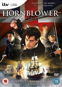 Hornblower-The-Complete-Series-Collection-Box-Set-New-Sealed-DVD