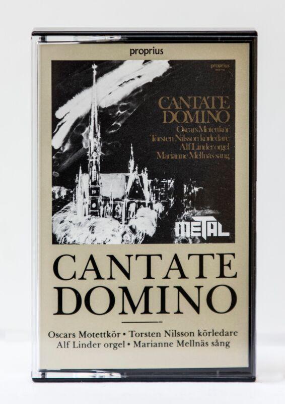 Cantate Domino, Organ, chorale Metal cassette, Propius Rare audiophile cassette