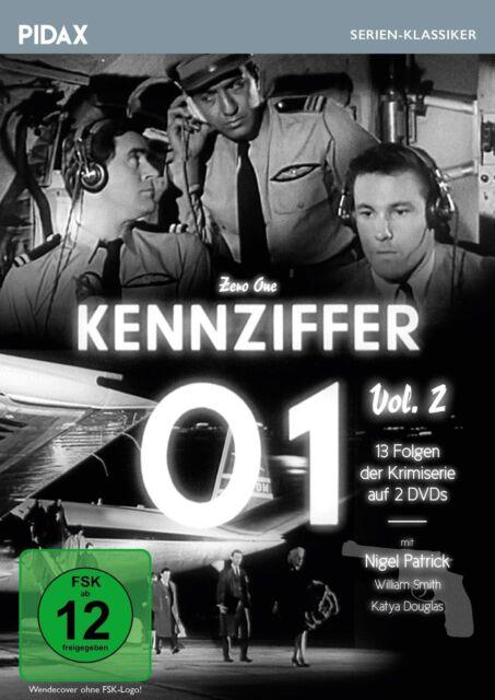 Kennziffer 01 - Vol. 2 * DVD Krimiserie 13 weitere Teile mit Nigel Patrick Pidax
