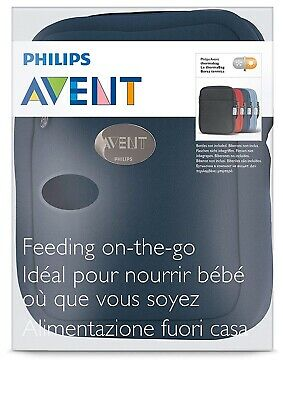 Philips Avent ThermaBag Feeding On The Go Black Brand New