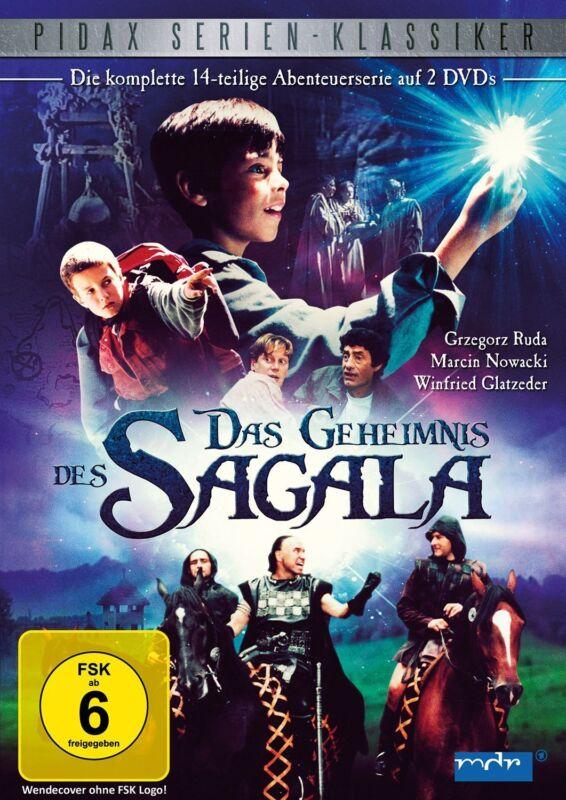 Das Geheimnis des Sagala * DVD Abenteuer Serie 14-Teile Pidax Neu Ovp