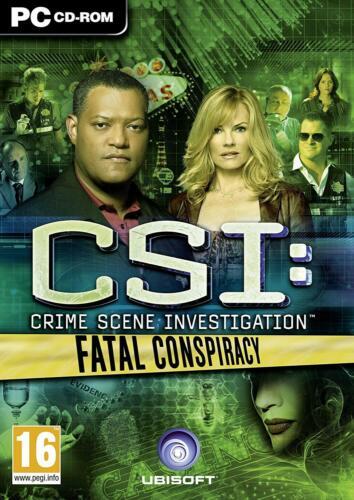 CSI Fatal Conspiracy (PC) (UK) [video game]