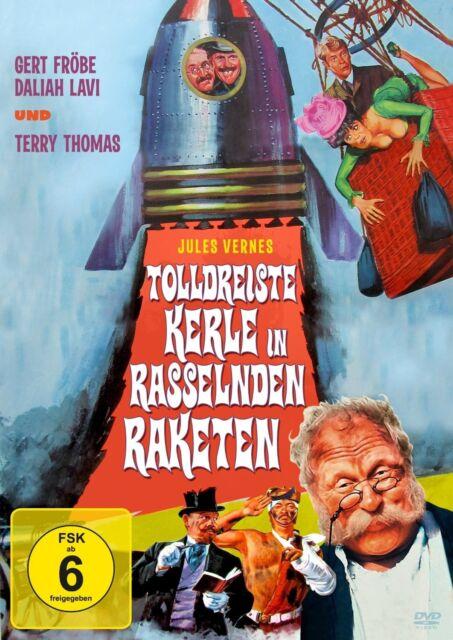 Tolldreiste Kerle in rasselnden Raketen - mit Gert Fröbe - Filmjuwelen DVD