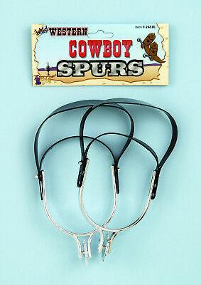 Forum Novelties Western Cowboy Spurs Adult Halloween Costume Accessory 24816