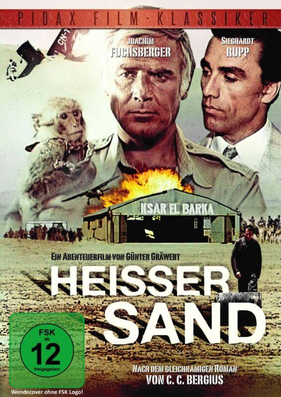 Heisser Sand * DVD Abenteuer Film Joachim Fuchsberger Pidax Neu Ovp Heißer Sand