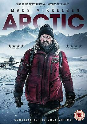 Arctic [DVD] New Sealed Mads Mikkelsen (Doctor Strange) Movie Gift Idea Survival ()