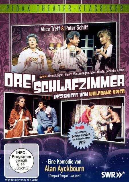 Drei Schlafzimmer * DVD Komödie von Wolfgang Spier Pidax Theater Neu Ovp
