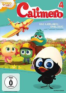 CALIMERO-4-EL-JUGUETE-FAVORITO-y-7-otros-Historias-Capitulos-DVD-nuevo