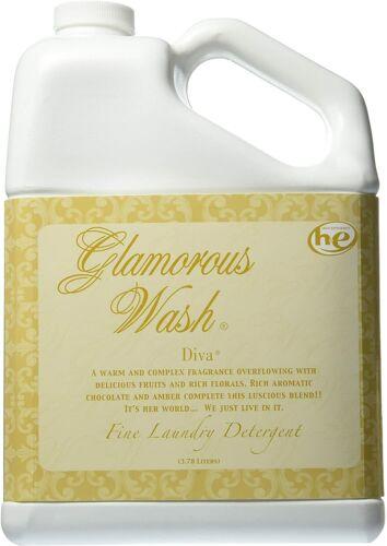 Tyler Candle Company Glamorous Wash Laundry Detergent, Diva, 1 Gallon