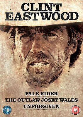 Clint Eastwood Westerns Collection (3-Disc Set) [Blu-Ray] [Region B/2] NEW