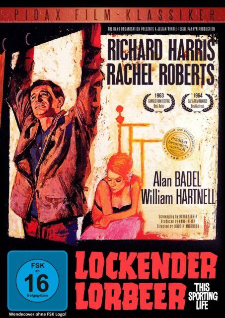 Lockender Lorbeer * DVD Grandioses Drama Richard Harris Rachel Roberts Pidax Neu