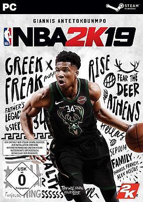 PC Computer Spiel NBA 2k19 19 2019 NEU NEW