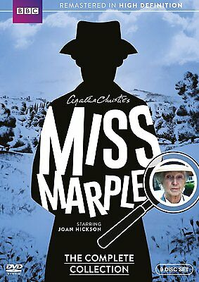 Miss Marple  The Complete Collection  Dvd  2015  9 Disc Set  Bbc Series