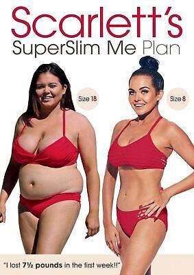 Scarlett Moffatt Super Slim Me Plan DVD New & Sealed Exercise Fitness Workout