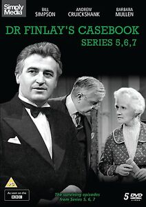 Dr Finlay's Casebook Series 5,6 and 7 [NEW & SEALED DVD]