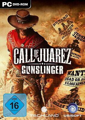 Call Of Juarez: Gunslinger PC Neu & OVP