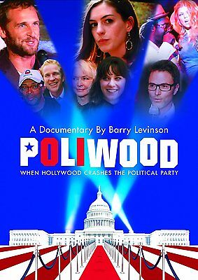 Poliwood Anne Hathaway Annette Bening Barry Levinson Tim Daly New Sealed Dvd