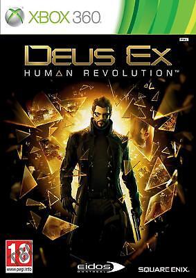 Deus Ex Human Revolution - Xbox 360 - New & Sealed