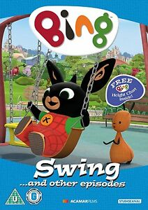 Bing swing other episodes dvd cbeebies next day delivery 5055201830258