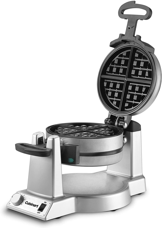 double belgian waffle maker iron nonstick gourmet