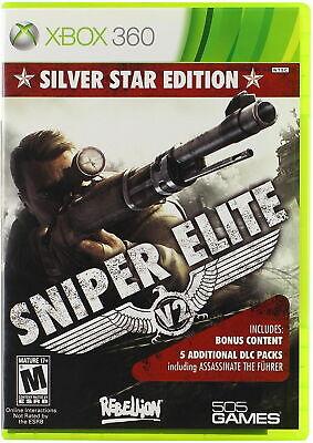 Sniper Elite V2 -  Silver Star Edition Microsoft Xbox 360 | New Sealed  segunda mano  Embacar hacia Mexico