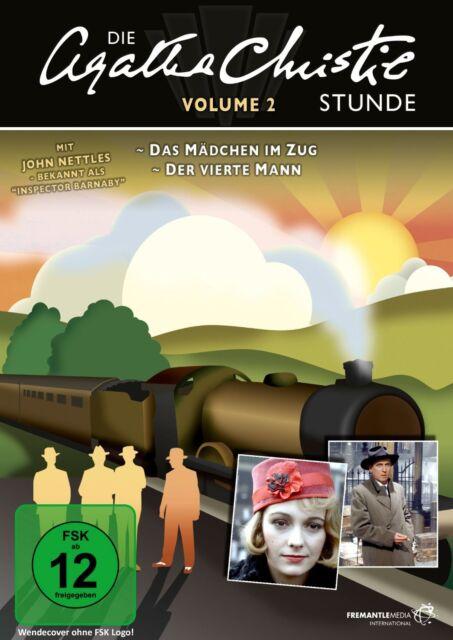 Die Agatha Christie Stunde Vol. 2 * DVD Krimi zwei weitere Verfilmungen Pidax Ne