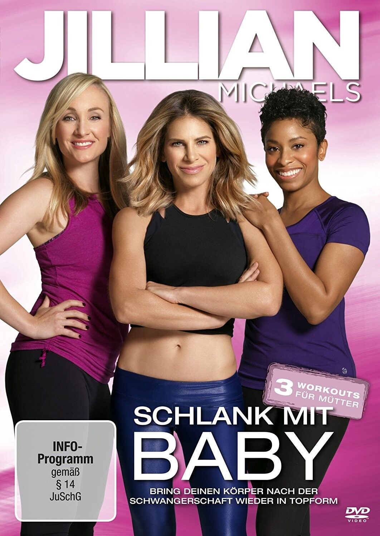 JILLIAN MICHAELS - SCHLANK MIT BABY   DVD NEU