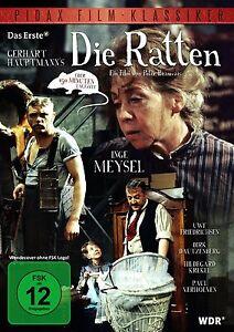 Die Ratten - DVD nach Roman von Gerhart Hauptmann Film mit Inge Meysel Pidax Neu