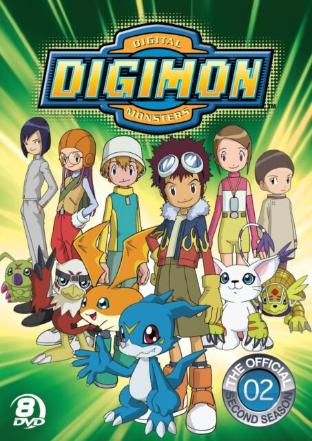NEW Digimon: Digital Monsters - The Official Second Season (DVD)