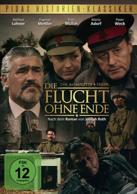 Die Flucht ohne Ende * DVD Serie 4-Teiler TV Pidax Film Neu Ovp