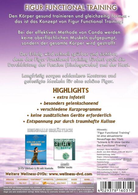 CANDA - FIGUR FUNCTIONAL TRAINING  DVD NEU