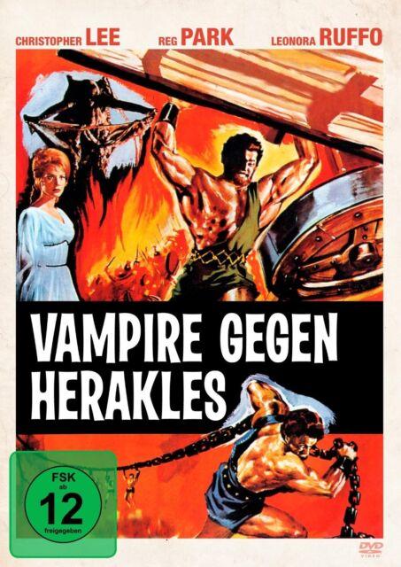 Vampire gegen Herakles - mit Christopher Lee (Hercules in the Haunted World) DVD