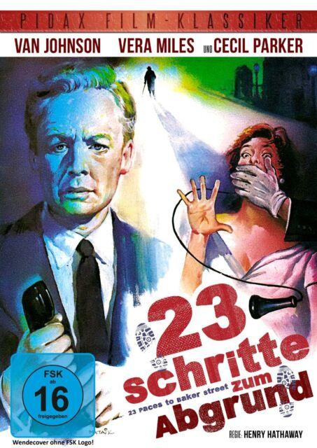 23 Schritte zum Abgrund * DVD Krimi Thriller Van Johnson Pidax Film Neu Ovp