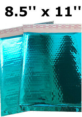 Bubble Mailers 8.5x11 Padded Envelopes Teal Shipping Envelopes Small Quantity