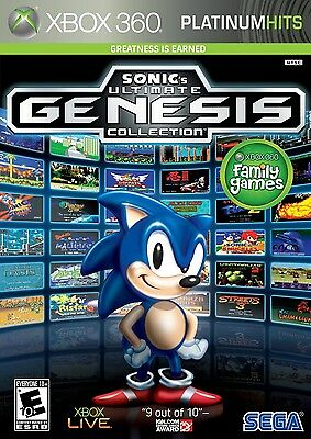 Sonics Ultimate Genesis Collection   Platinum Hits    Xbox 360  2009    0348