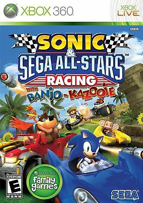 Sonic   Sega All Stars Racing With Banjo Kazooie  Microsoft Xbox 360  2010