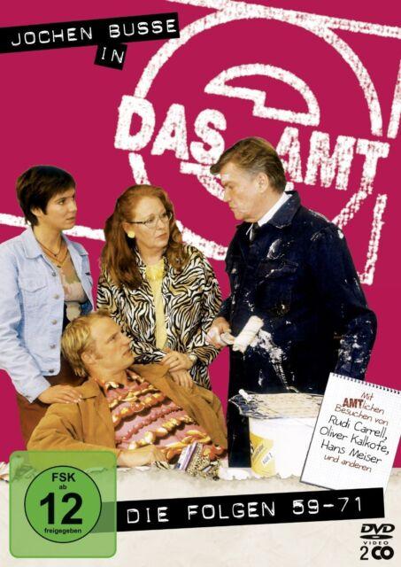 DAS AMT - Folgen 59-71 - Jochen Busse (2 DVDs) *NEU OVP* Box/Staffel 5