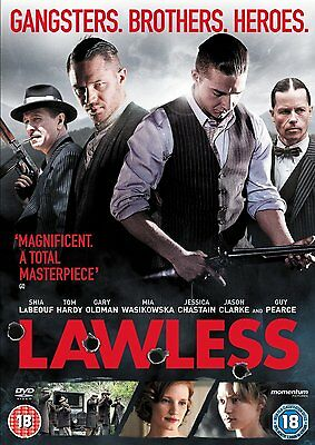 Lawless DVD (Tom Hardy) Disc Only No Case Or Cover