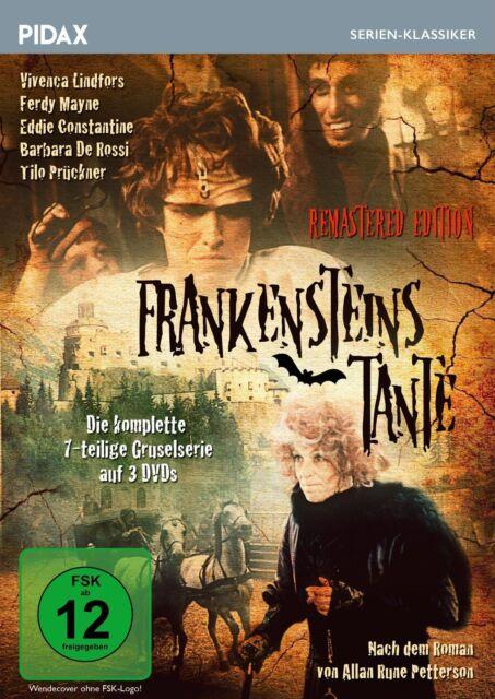 Frankensteins Tante - Remastered Edition * DVD Gruselserie Ferdy Mayne Pidax Neu