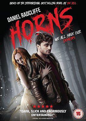 Horns (DVD) Daniel Radcliffe has the devil of a problem](Daniel Radcliffe Halloween)