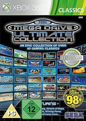 XBOX 360 Sega Mega Drive Ultimate Collection 40 Spieleklassiker NEU&OVP