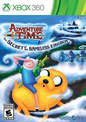 Xbox 360 Adventure Time: The Secret Of The Nameless Kingdom Video Game