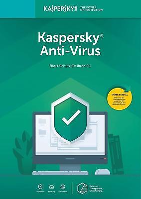 Kaspersky Antivirus 2019 (1 PC, 2 PC, 3 PC, 5 PC / Geräte | 1 Jahr ) 2019 Jahr ()