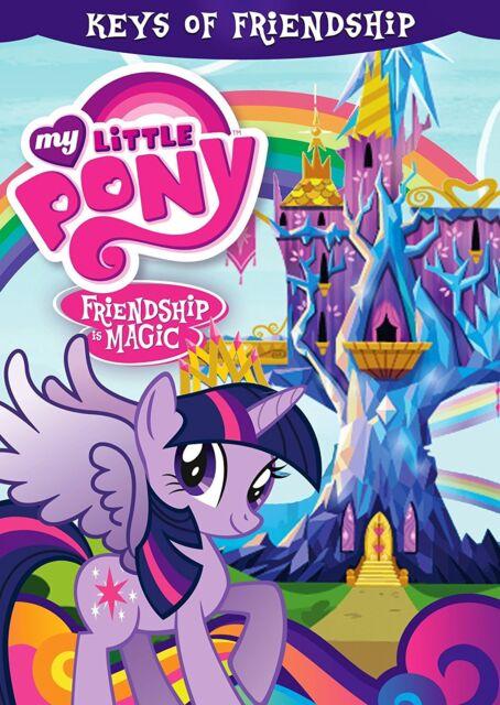 MY LITTLE PONY FRIENDSHIP IS MAGIC: KEYS OF - DVD - Region 1 Sealed