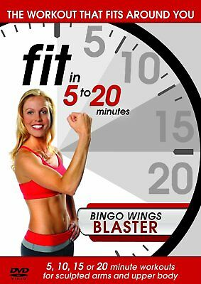 Fit in 5 to 20 Minutes - Bingo Wings Blaster (DVD) - Fitness Bingo