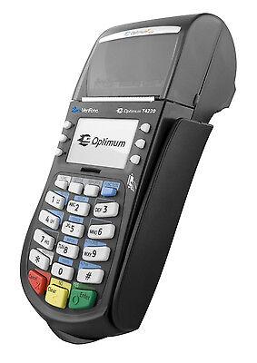 Hypercom Optimum T4220 Credit Card Machine 010332-311r