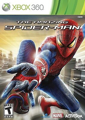 Activision The Amazing SPIDER-MAN Spiderman (Xbox 360, 2012) NTSC