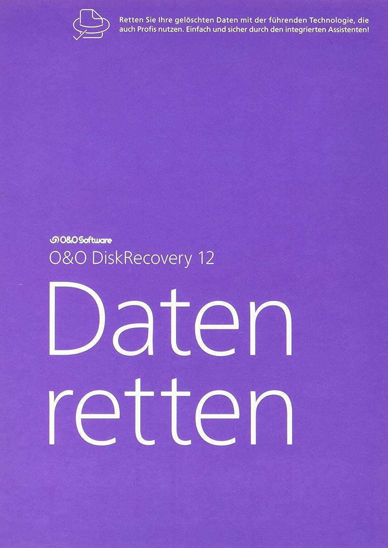 O&O DiskRecovery 12 Daten retten, Datenwiederherstellung wie Neu