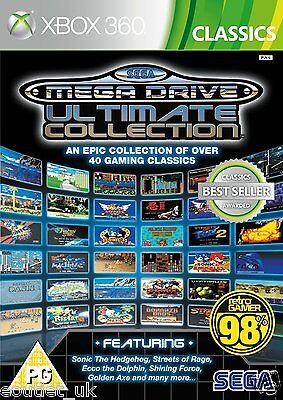 Sega Mega Drive Ultimate Collection Xbox 360 Jeux Rétro X360 Neuf Scellé (Sega Collection Xbox 360)
