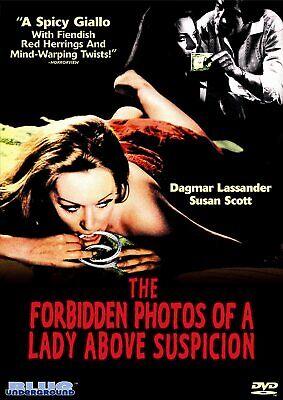 Forbidden Photos of a Lady Above Suspicion (DVD 2006) All regions Giallo